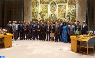 Morocco Participates in 12th Consultative Meeting of UNSC & AU Peace and Security Council