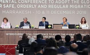 مراكش: اختتام المؤتمر الحكومي الدولي من أجل المصادقة على الميثاق العالمي للهجرة