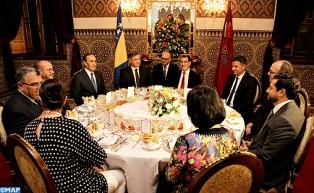 SM el Rey ofrece una cena en honor del presidente del Consejo de Ministros de Bosnia-Herzegovina
