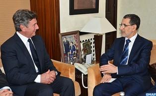 Le Chef du gouvernement s'entretient avec le président de la Commission des AE du Sénat brésilien