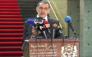 Le Chef du gouvernement souligne la nécessité de respecter la loi dans le traitement des protestations à Al Hociema et d'enquêter sur tout abus