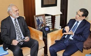 El jefe del Gobierno se congratula del nivel de la cooperación entre Marruecos y la OCDE
