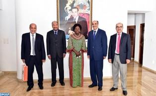 تطورات قضية الصحراء المغربية محور مباحثات بين السيد خليهن ولد الرشيد ورئيسة البرلمان الأوغندي