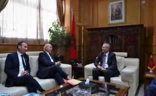 السيد بنعبد القادر يستعرض أمام وفد فرنسي الاستراتيجية الوطنية لمكافحة الفساد