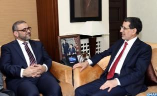 M. Othmani réaffirme le soutien continu du Maroc aux efforts visant à parvenir à un accord au service des intérêts du peuple libyen