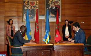 الدورة الأولى للجنة المشتركة العليا المغرب-رواندا