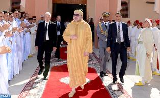 HM the King Visit to Southern Provinces