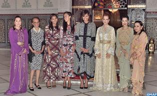 SM le Roi offre un Iftar à Marrakech en l'honneur de la Première Dame des Etats-Unis Michelle Obama
