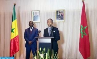El embajador de Marruecos en Senegal entrega un mensaje de condolencias y compasión de SM el Rey a la familia del califa general de la Cofradia kadiria kountia