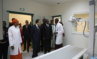 Upon Royal Instructions, Moroccan Delegation Inaugurates in Bamako 'Mohammed VI Perinatal Clinic'