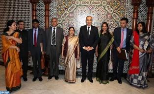 وزيرة خارجية الهند: العالم يقدر الدور القيادي للمغرب في التصدي للإرهاب وللفكر المتطرف