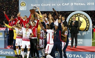 الكأس الافريقية الممتازة 2018: الوداد البيضاوي يتوج باللقب لأول مرة في تاريخه بعد فوزه على مازيمبي الكونغولي بهدف للاشيء