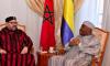 SM el Rey visita al presidente gabonés, Ali Bongo Ondimba, en el Hospital militar de Rabat