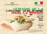 Semaine de la cuisine italienne dans le monde