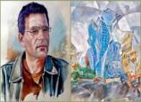 معرض تشكيلي للفنان محمد السالمي