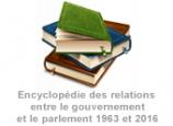 Encyclopédie des relations entre le gouvernement et le parlement