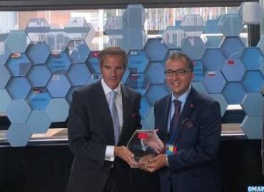 Rénovation des laboratoires de l'AIEA pour les applications nucléaires (ReNuAl+) : Remise au Maroc d