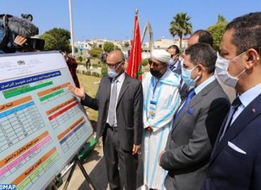 السيد أمزازي : مؤسسات تعليمية جديدة بمناطق إعادة إيواء ساكنة دور الصفيح ببولقنادل