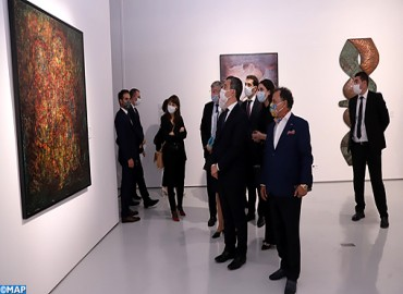 French Interior Minister Commends HM the King's 'Great Effort' to Promote Culture and Cultural Openn
