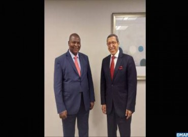 Moroccan Ambassador Hilale Received by President of the Central African Republic