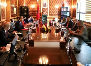السيد بن شماش يؤكد الموقف الثابت للمملكة المغربية الداعم للحوار الليبي - الليبي