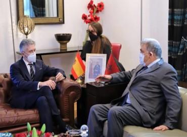 Ministre espagnol de l'Intérieur:La coordination avec le Maroc est