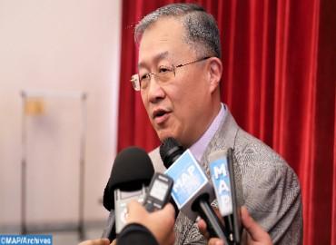 توشيح السفير السابق للصين لدى المغرب بوسام ملكي