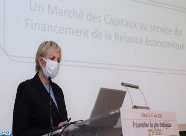 الهيئة المغربية لسوق الرساميل تقدم مخططها الإستراتيجي الجديد برسم 2021- 2023