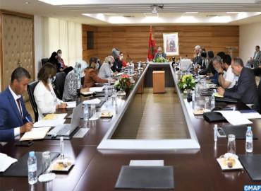 Aménagement du territoire: Réunion à Rabat du Comité de pilotage de la 1-ère phase de l'étude relati
