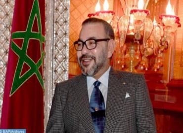 جلالة الملك يهنىء رئيس جمهورية تركمانستان بمناسبة عيد استقلال بلاده