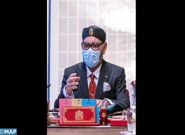 Su Majestad el Rey Mohammed VI preside un Consejo de ministros
