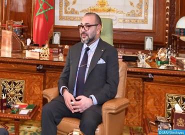 SM el Rey felicita a Rachid Talbi Alami con motivo de su elección presidente de la Cámara de Represe