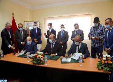 آسفي : التوقيع على ثلاث اتفاقيات شراكة لتعزيز وتطوير برامج شعبة
