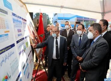 السيد أمزازي يزور بآسفي ثانوية نموذجية على مستوى البرامج والمشاريع المعتمدة