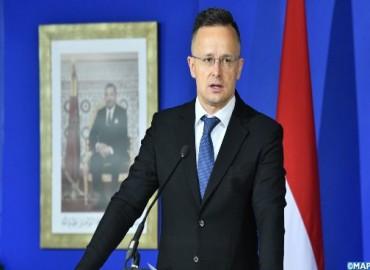 وزير الخارجية الهنغاري : السيادة والاستقرار يكتسيان أهمية بالغة بالنسبة للمغرب وهنغاريا