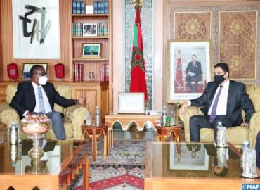 Le renforcement de la coopération bilatérale au cœur d'entretiens entre M. Bourita et son homologue