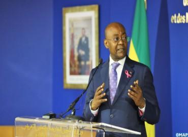 El ministro gabonés de Asuntos Exteriores reafirma el apoyo