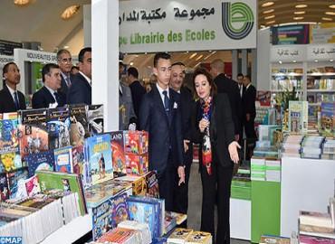 SAR el Príncipe Heredero Moulay El Hassan preside en Casablanca la apertura del vigesimocuarto Salón Internacional de la Edición y del Libro