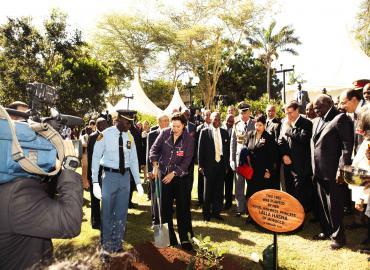 SAR la Princesse Lalla Hasnaa à Nairobi