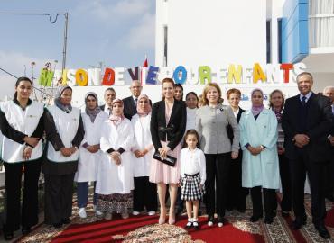 SAR la Princesse Lalla Salma inaugure ''la Maison de Vie pour enfants'' à Casablanca