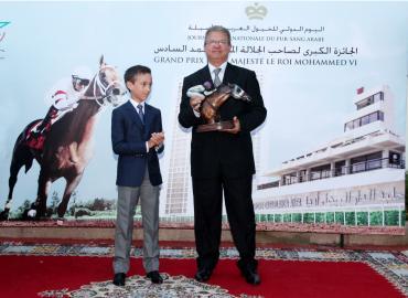صاحب السمو الملكي ولي العهد الأمير مولاي الحسن يترأس حفل تسليم الجائزة الكبرى لصاحب الجلالة الملك محمد السادس