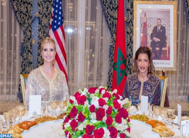 HM the King Offers Dinner in Honor of Ivanka Trump, Chaired by HRH Princess Lalla Meryem