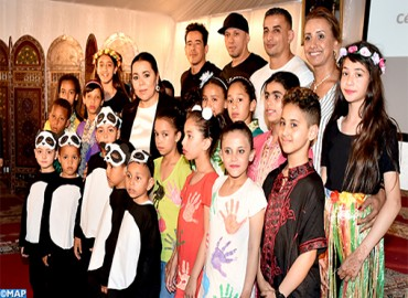 HRH Princess Lalla Asmae Chairs 2018-2019 School Year Graduation Ceremony of Deaf Children and Youth