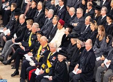 صاحب السمو الملكي الأمير مولاي رشيد يمثل جلالة الملك في مراسيم تشييع جثمان الدوق الأكبر جان، دوق اللوكسمبورغ