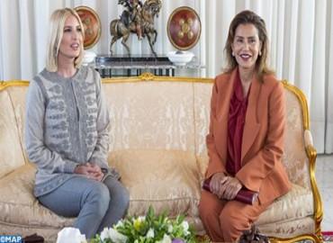 Ivanka Trump, asesora del presidente de Estados Unidos, llega a Marruecos