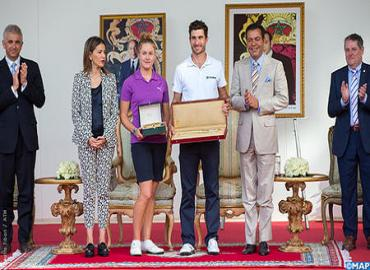 41st Hassan II Trophy/20th Lalla Meryem Cup: TRH Prince Moulay Rachid And Princess Lalla Meryem Chair In Agadir Prize-Awarding Ceremony