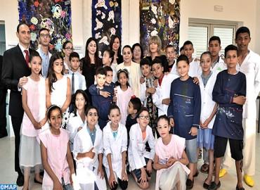 صاحبة السمو الملكي الأميرة للا أسماء تترأس حفل نهاية السنة الدراسية 2016 – 2017 بمؤسسة للا أسماء للأطفال والشباب الصم
