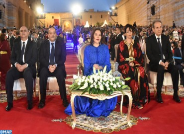 HRH Princess Lalla Hasnaa Chairs Opening of 24th Fez Festival of World Sacred Music