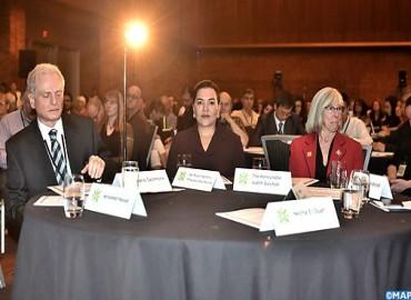 SAR la Princesa Lalla Hasnaa participa en Vancouver, como invitada de honor, en la ceremonia de apertura del noveno Congreso Mundial de Educación Ambiental