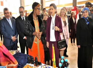 HRH Princess Lalla Meryem Chairs in Rabat Inauguration Ceremony of Diplomatic Circle Charity Bazaar